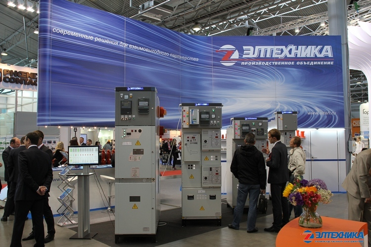 JSC «PO Eltechnika» stand at «Power and Electrical Industry Exhibition 2014»
